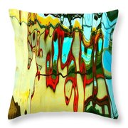 Prancing For Toulouse Throw Pillow