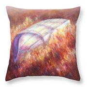 Pray For Rain Throw Pillow