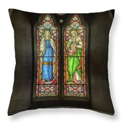 Pray For The Soul Throw Pillow
