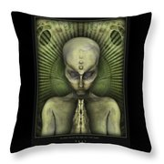 Pray In One Point We Are All The Same Throw Pillow