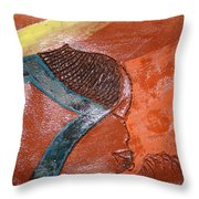 Prayer 17 - Tile Throw Pillow