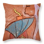 Prayer 25 - Tile Throw Pillow