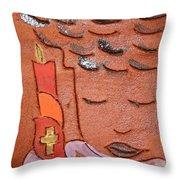Prayer 31 - Tile Throw Pillow