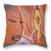 Prayer 33 - Tile Throw Pillow