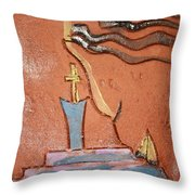 Prayer 34 - Tile Throw Pillow