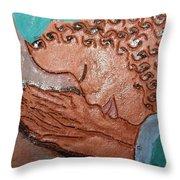 Prayer 36 - Tile Throw Pillow