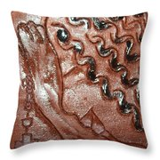Prayer 37 - Tile Throw Pillow
