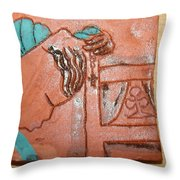 Prayer 40 - Tile Throw Pillow