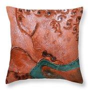 Prayer 41 - Tile Throw Pillow