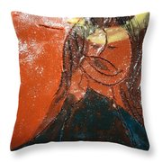 Prayer 8 - Tile Throw Pillow