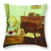 Prayer Closet Throw Pillow