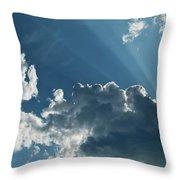 Prayer Cloud Throw Pillow