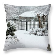 Prayer Garden4 Throw Pillow