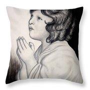 Prayer Is The Master-key Throw Pillow
