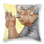 Prayer Of A Righteous Man Throw Pillow