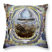 Prayer Of Protection Throw Pillow