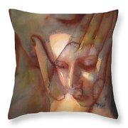 Prayer Two Throw Pillow