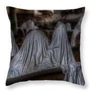 Praying For Peace Throw Pillow
