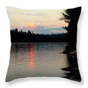 Pre-sunrise Throw Pillow