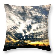 Pre-sunset Throw Pillow
