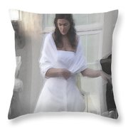 Precious Memories Throw Pillow