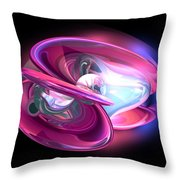 Precious Pearl Abstract Throw Pillow