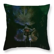 Predator Painting Throw Pillow