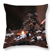 Predator Sith Throw Pillow