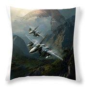 Predators Throw Pillow