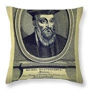 Predictions Of Nostradamus 4 Throw Pillow