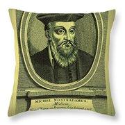 Predictions Of Nostradamus 2 Throw Pillow