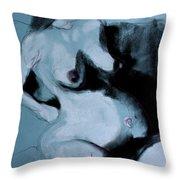 Pregnant Woman I Throw Pillow
