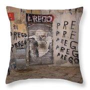 Prego Throw Pillow