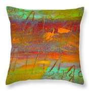 Prelude To A Sigh Throw Pillow