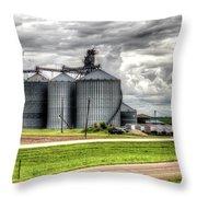 Premier Grain - Ganado, Tx Throw Pillow