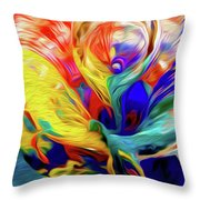 Premorphationism Glass Throw Pillow