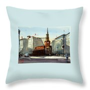 Presbyterian Church, Ny Avenue Washington Dc Throw Pillow