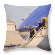 President Obama Throw Pillow