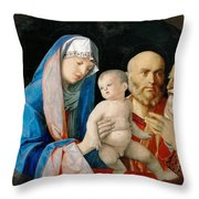Presentation Of Christ In The Temple Throw Pillow