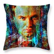 President Andrzej Duda Portrait Throw Pillow