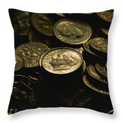 President Franklin Roosevelts Profile Throw Pillow