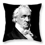 President James Buchanan Graphic Throw Pillow