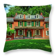 President James Buchanan's Wheatland Throw Pillow