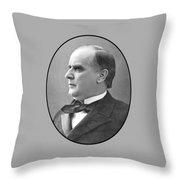 President Mckinley Throw Pillow