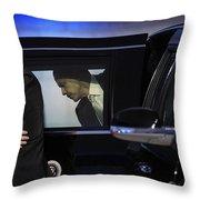 President Obama Vi Throw Pillow