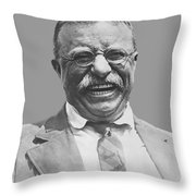 President Teddy Roosevelt Throw Pillow