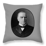 President William Mckinley  Throw Pillow