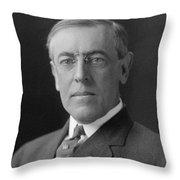 President Woodrow Wilson Throw Pillow