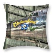 Presidential Aircraft - Lockheed Vc-121e Columbine Throw Pillow