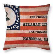 Presidential Campaign, Throw Pillow